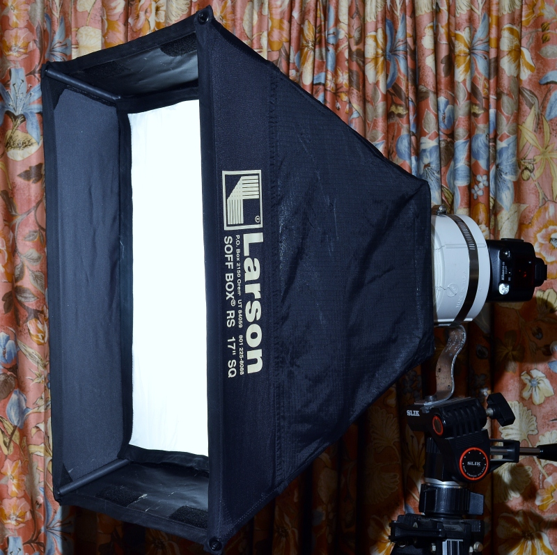 DIY: How To Mount Speedlight To A Softbox